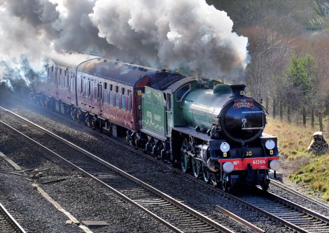 TONY BATES | Steam Engine Cathedrals Express