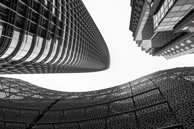 jonathan nguyen | San Francisco High Rises bw 2