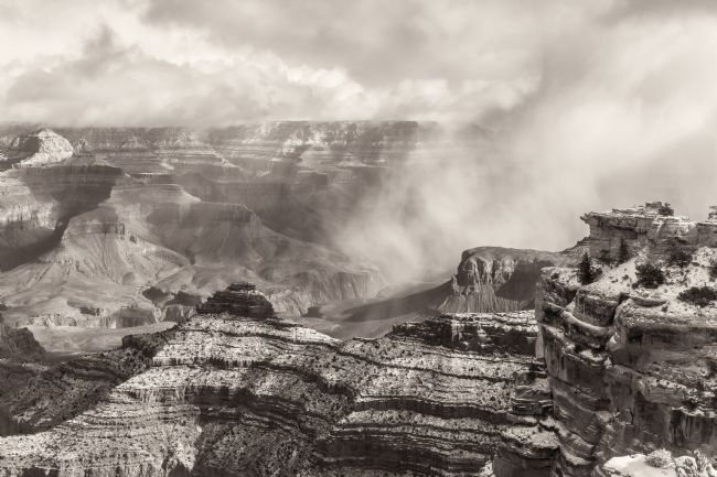 jonathan nguyen | Grand Canyon in sepia