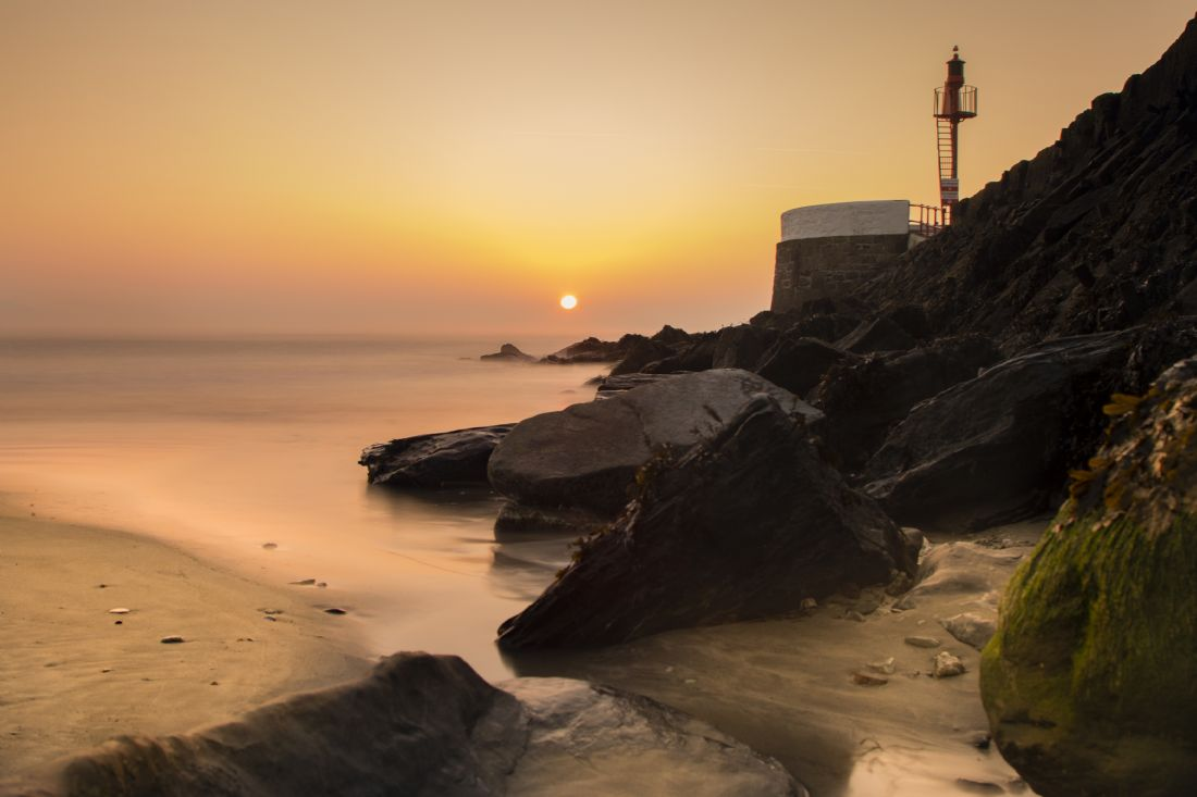 Ken Brannen | Sunrise at Looe