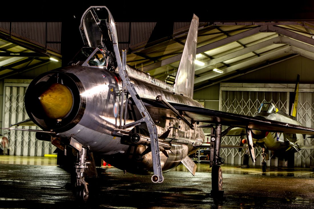 Ken Brannen | English Electric Lightning QRA shed