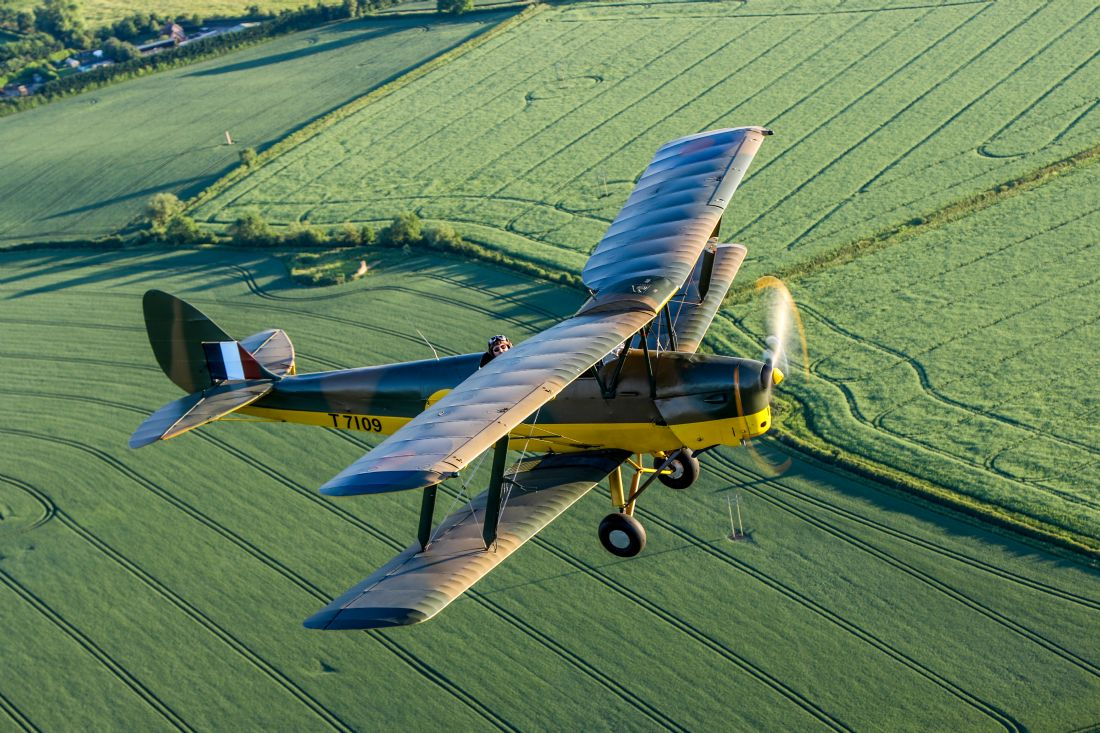 Ken Brannen | Tiger Moth Air to Air
