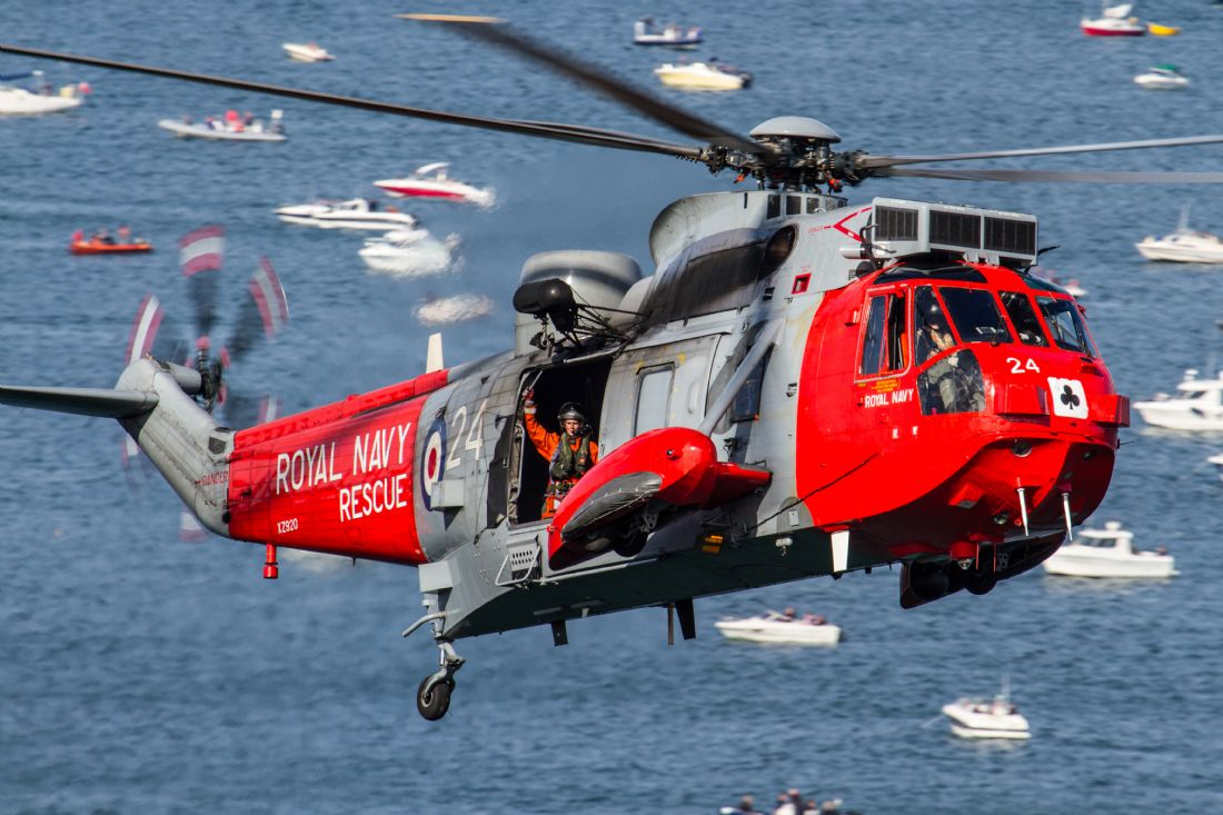 Ken Brannen |  Royal Navy Sea King