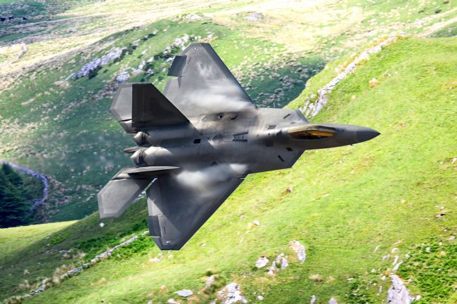 Ken Brannen | F22 Raptor low level