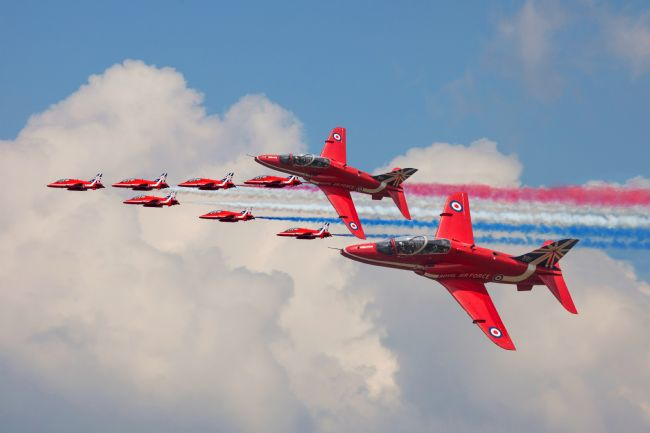 Ken Brannen |  Red Arrows 50th anniversary