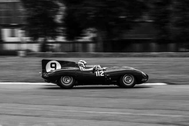 Ken Brannen | Jaguar D Type race car