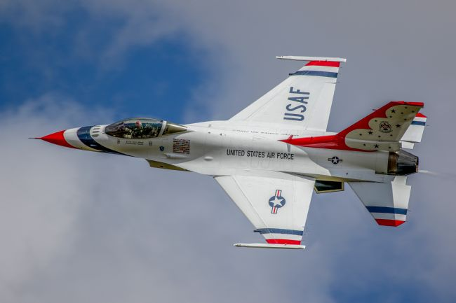 Ken Brannen | USAF Thunderbirds display