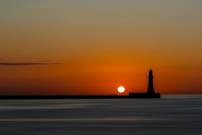 Ken Brannen | Sunrise on Roker Pier