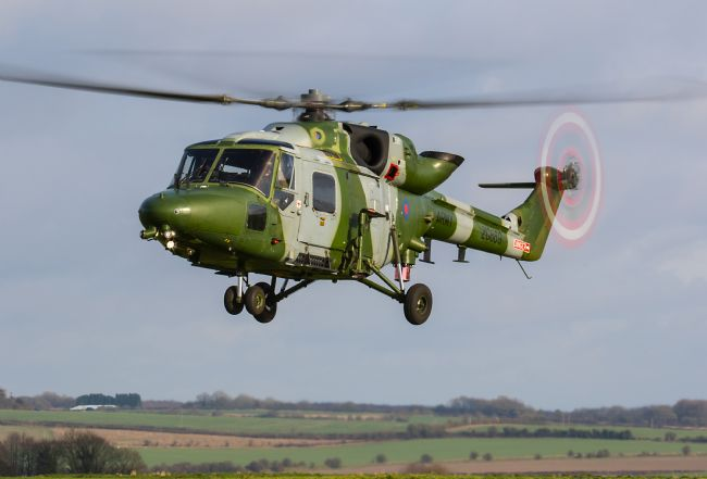 Ken Brannen | Lynx Mk9 training flight