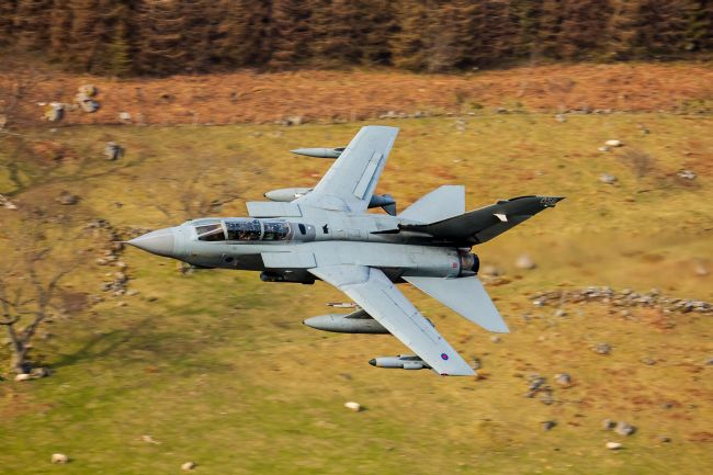 Ken Brannen |  Tornado GR4 at low level