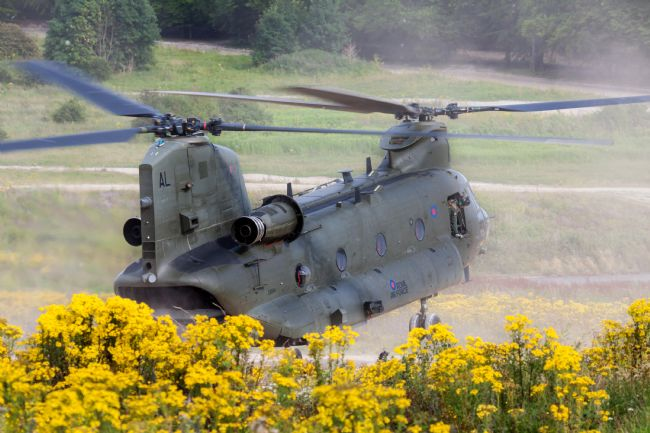 Ken Brannen | Chinook on Salisbury Plain