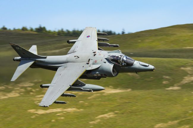 Ken Brannen | Harrier Jump Jet low level