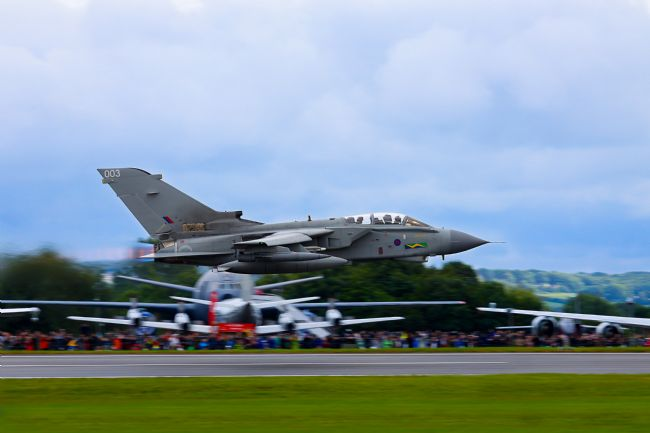 Ken Brannen |  Tornado GR4 low at RIAT