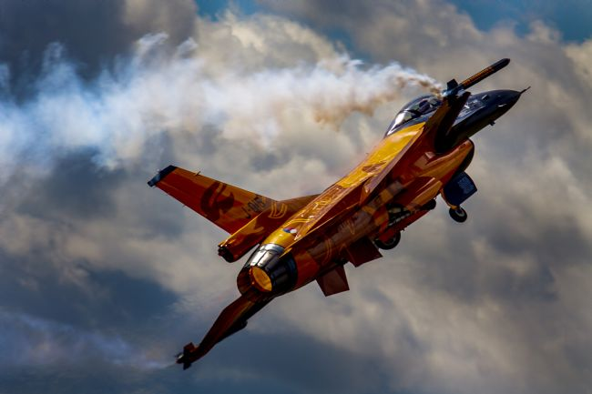 Ken Brannen | Dutch F16 Demo Team