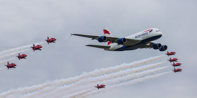Ken Brannen | Red Arrows and BA A380
