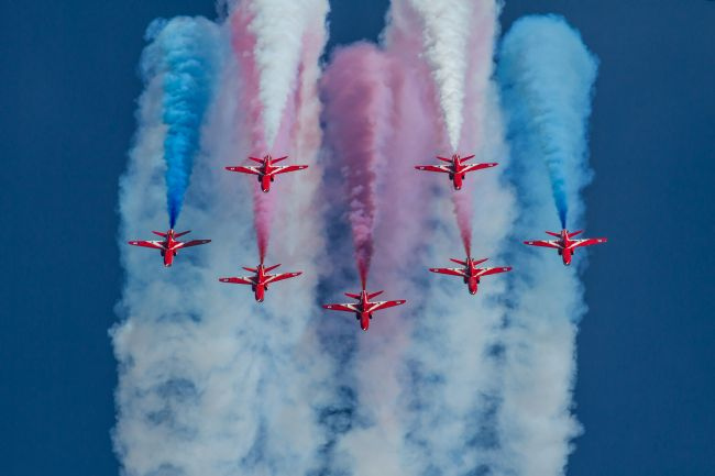 Ken Brannen | Red Arrows roll out