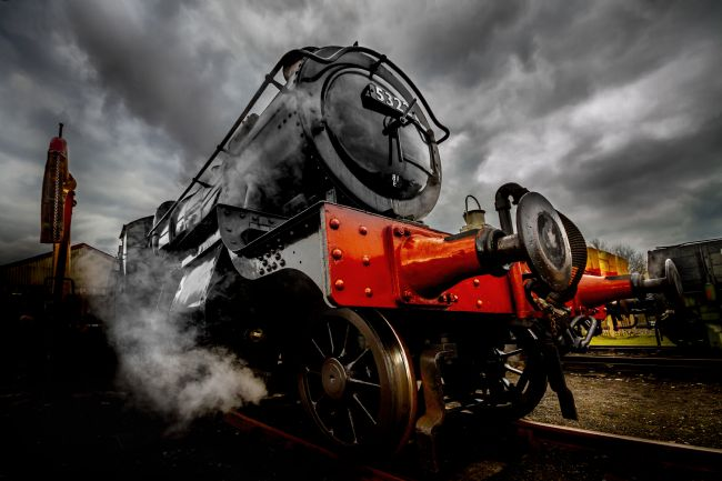 Ken Brannen | Steam Locomotive