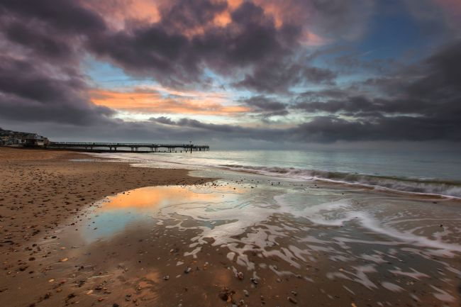 Jennifer Franklin | Boscombe Pier at Dawn