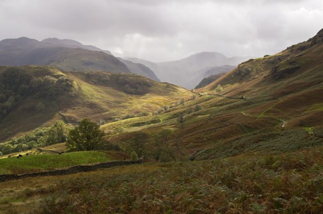 Pete Hemington | Borrowdale towards Great Gable