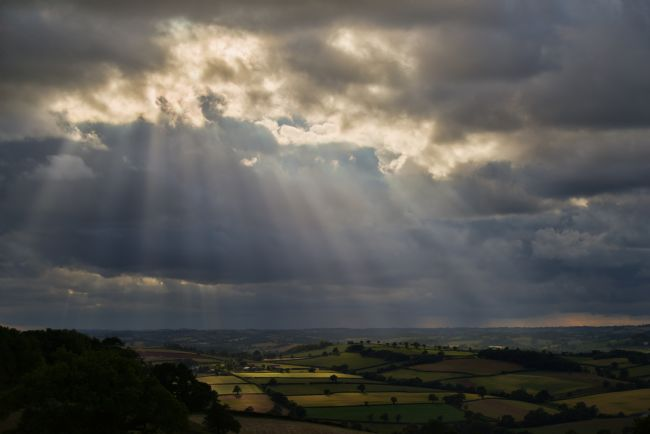 Peter Hemington |  Mid Devon from Raddon Top