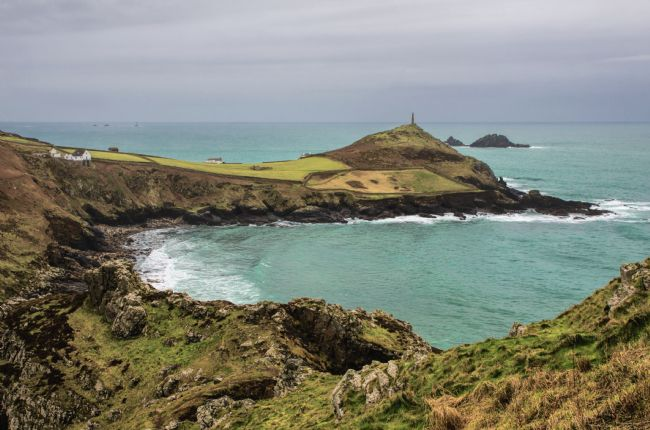 Peter Hemington | Cape Cornwall from Kenidjack Castle