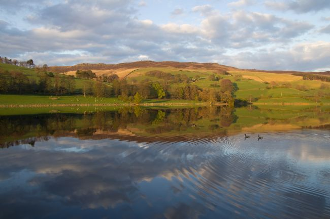 Peter Hemington | Ladybower, reflections and ripples