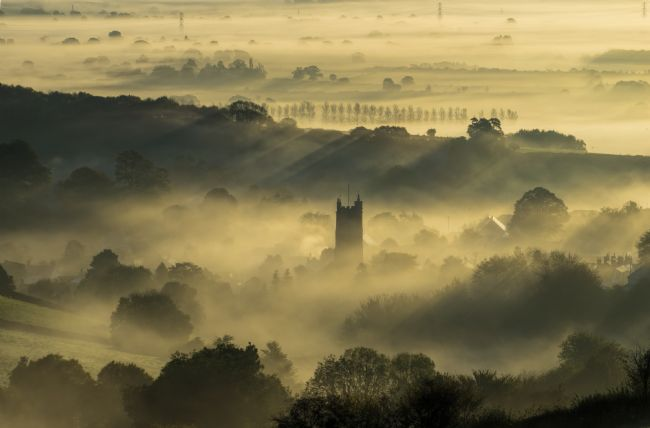 Pete Hemington | Sunrise over Bradninch