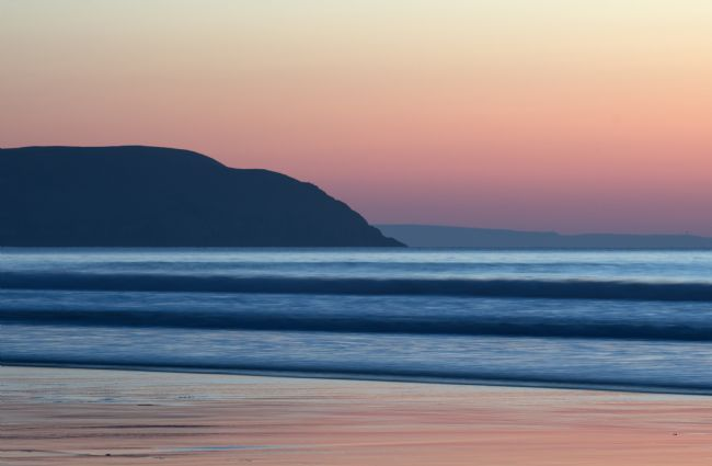 Peter Hemington | Sunset at Woolacombe
