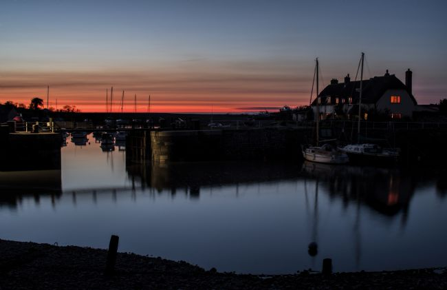 Pete Hemington | Porlock Weir at Dusk