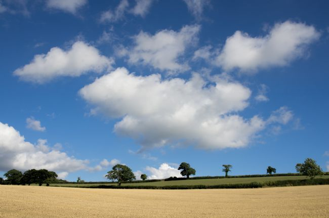 Pete Hemington | Cloudscape over Devon