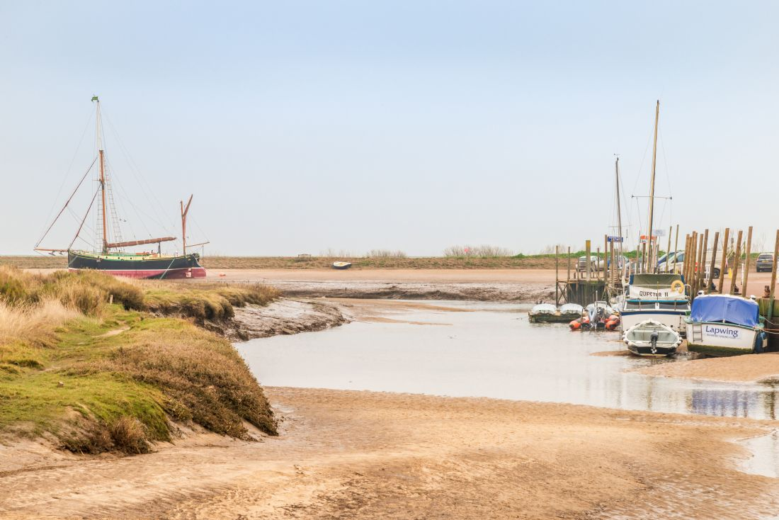 Stephen Mole | The Juno from Blakeney Quay