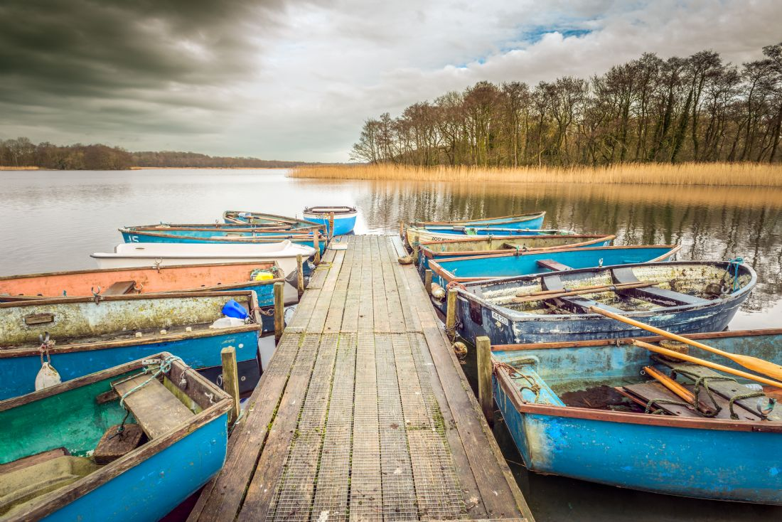 Stephen Mole | Jetty and boats at Filby