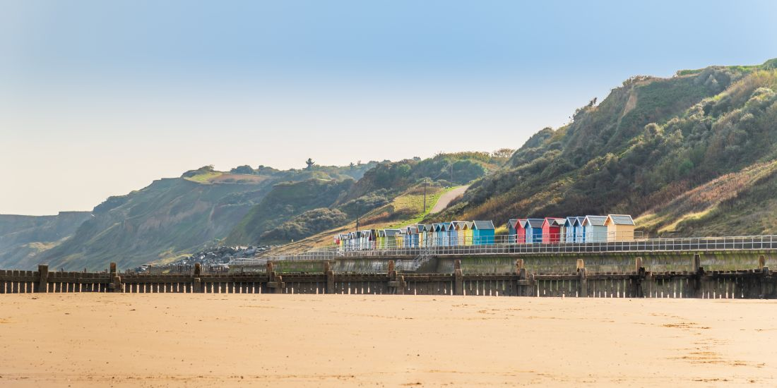 Stephen Mole | Beach huts at Overstrand