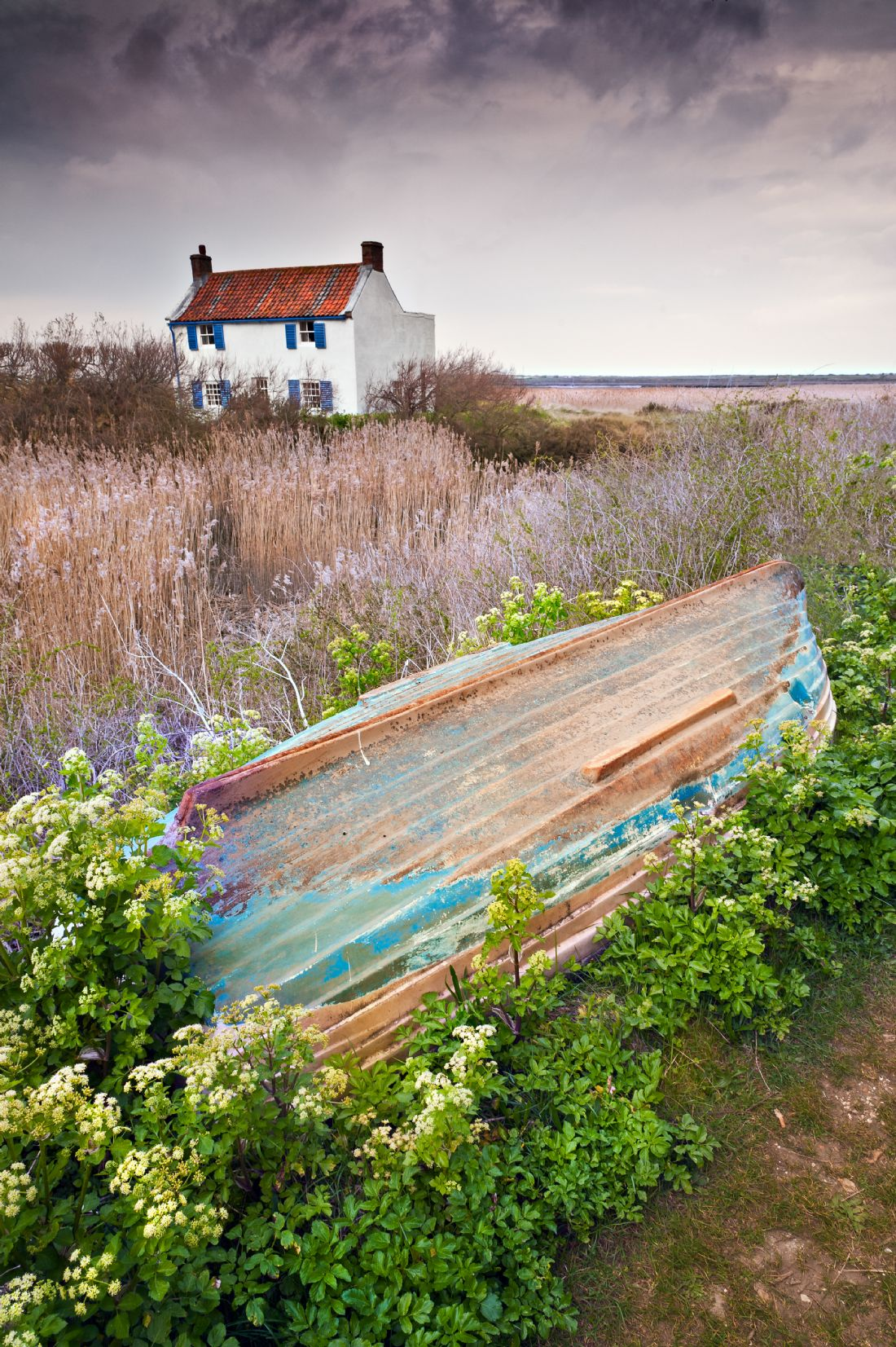 Stephen Mole | White house at Brancaster