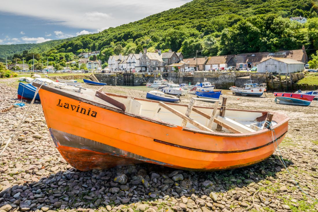 Stephen Mole | Lavinia at Porlock Weir
