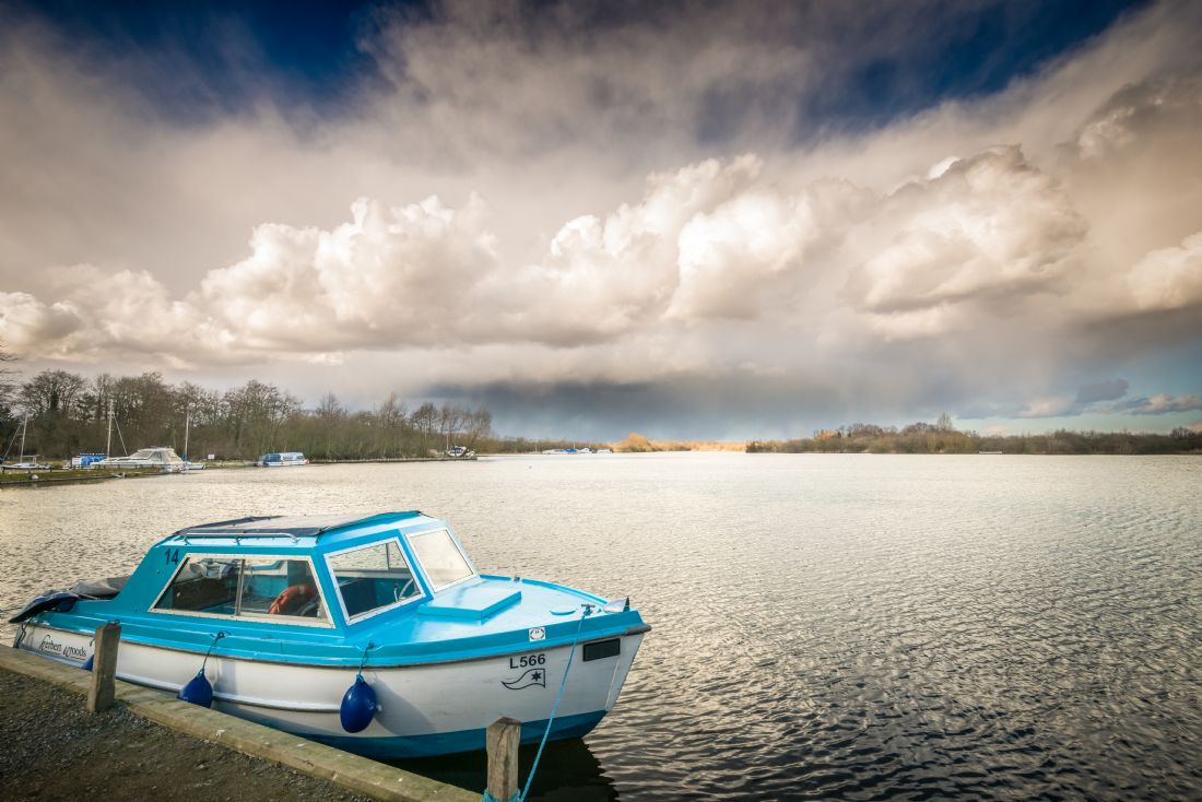 Stephen Mole | Day boat at Ranworth Broad