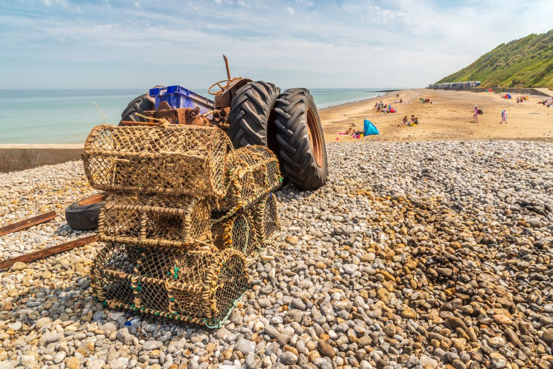 Stephen Mole | Lobster Pots at Cromer