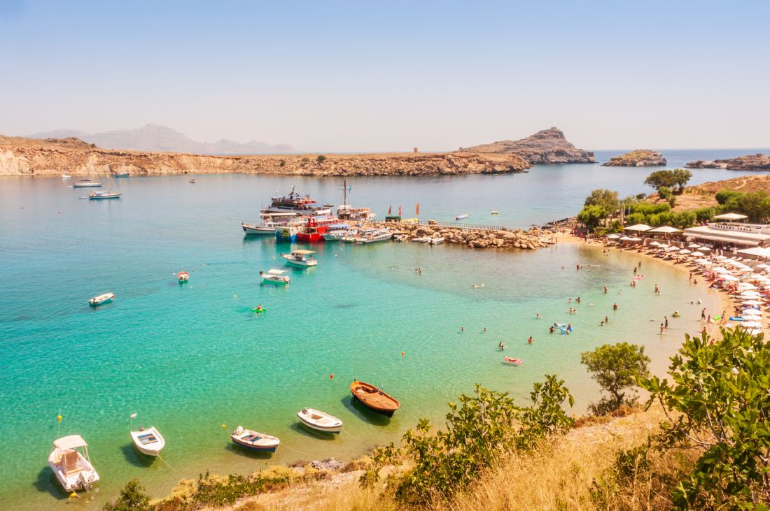 Stephen Mole | Lindos Beach