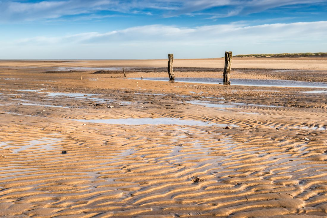 Stephen Mole | Tides out at Titchwell beach