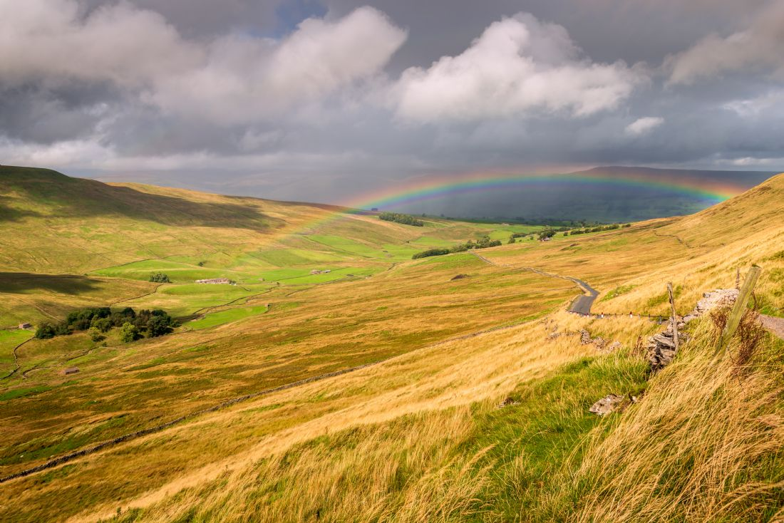 Stephen Mole | Rainbow in the Yorkshire Dales