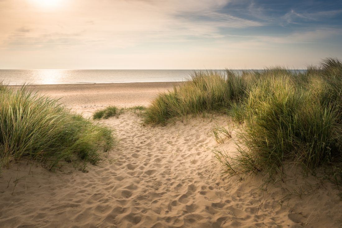 Stephen Mole | Stepping on to Winterton Beach in Norfolk