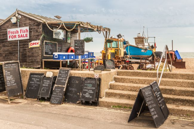 Stephen Mole | Fresh Fish Hut at Aldeburgh