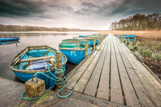 Stephen Mole | Boats on Filby Broad