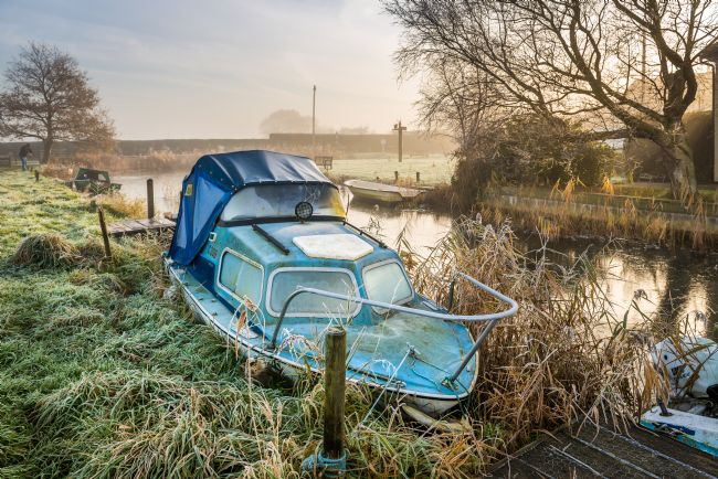Stephen Mole | Boat at Somerton