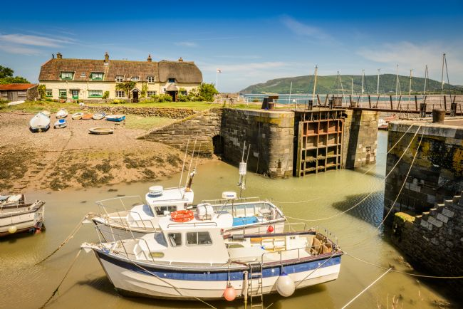 Stephen Mole | Porlock Weir in Somerset