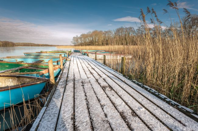 Stephen Mole | Frosty Jetty at Filby