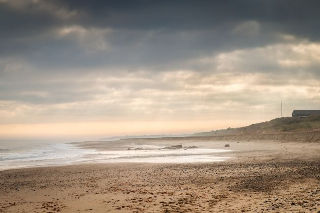 Stephen Mole | Winter on Winterton Beach