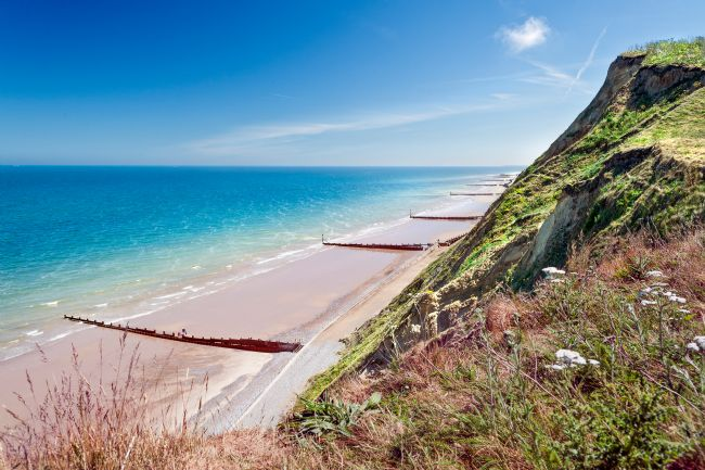 Stephen Mole | Sheringham Cliffs