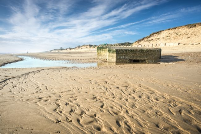 Stephen Mole | Pill Box on Hemsby Beach