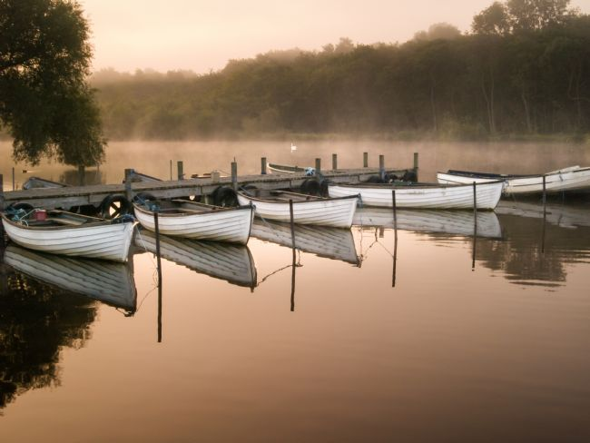 Stephen Mole | Boats at The eels Foot